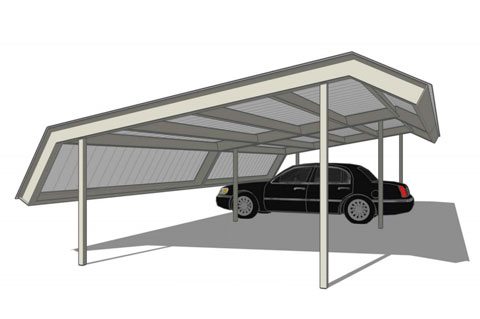 Single source for design, manufacturing and installation of car ports, metal canopies, and other carport structures.