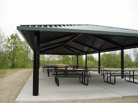 Classic Carports manufacturers and installs a wide variety of metal canopy structures including metal canopies, steel carports, aluminum canopies or any type of custom canopy to meet your needs.