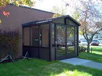 Metal Structures, Dumpster Enclosures, Standing Seam Roofs